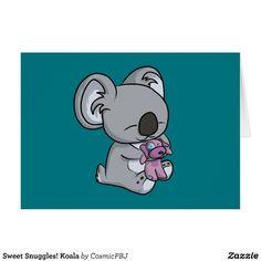Sweet Snuggles! Koala Card