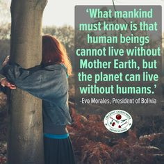 If we plan on living in a world where future generations can thrive, we will to have to stop polluting the earth and start healing it.