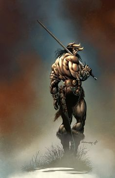 Conan the barbarian by MarkHRoberts on DeviantArt