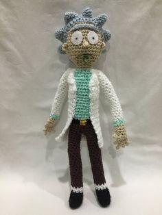 Amigurumi Rick And Morty : rick and morty crochet - Google Search Amigurumi ...