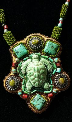 Hey, I found this really awesome Etsy listing at https://www.etsy.com/listing/209468351/native-american-beadwork-turtle-totem
