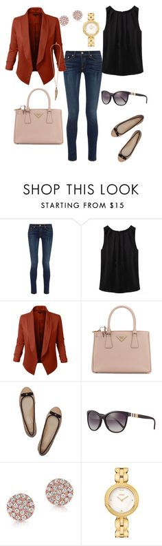 """""""Untitled #229"""" by chuzoi ❤ liked on Polyvore featuring rag & bone, WithChic, Prada, Tory Burch, Burberry, Anne Sisteron, Fendi and Roberto Cavalli"""