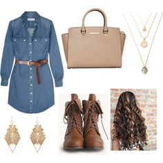 Untitled #1173 by emmahhayes on Polyvore featuring polyvore fashion style MICHAEL Michael Kors Charlotte Russe clothing
