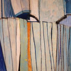 Blue Winter, 1956, Terry Frost, Leeds Art Gallery Abstract Expressionism, Abstract Art, Abstract Paintings, Leeds Art Gallery, Medium Art, Painting Inspiration, Blue Orange, Printmaking, Frost