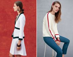 Trademark - Sisters Alexandra and Louisa Burch have recently launched a sportswear line called Trademark.