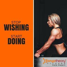 Start doing..... Come join us at Orangetheory Palm Desert...