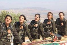 fighting against isis | ... Female Peshmerga Fighters Take Oath to Fight ISIS in Iraq (Video