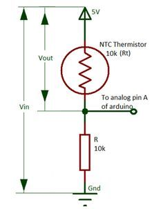 Admirable Voltage Divider Circuit By Thermistor And Resistor Electronic Wiring 101 Orsalhahutechinfo