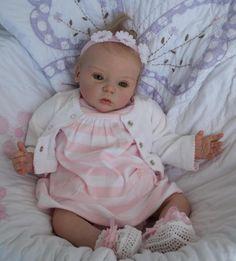 LIVIA   AMAZING REBORN BABY GIRL    ANNABELLA'S NURSERY .REBORN ARTIST CECILIA MCDERMOTT