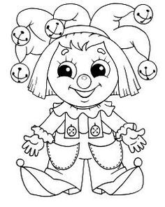 Free printable Dolls coloring pages. Select one of 1000 printable Coloring pages of the category for girls. Pattern Coloring Pages, Coloring Pages For Girls, Colouring Pics, Coloring Pages To Print, Coloring Book Pages, Coloring For Kids, Printable Coloring Pages, Coloring Sheets, Clowns