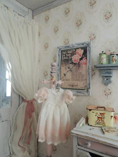 I thought Mother's Day would be the perfect time to show you what I've been working on in the 'Rose' Bedroom. I think every dollh. Girl Nursery, Girl Room, Nursery Decor, Baby Room, Hobbies To Take Up, Fun Hobbies, Rose Bedroom, Girls Bedroom, Vintage Sheet Music