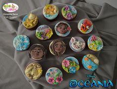 Giovanna Sacco - #Oceania #SognaOceania #cakedesign #cakedesignitalia #Vaiana #cupcake