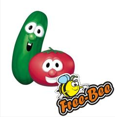 """FREE 3 Personalized Veggie Tales Songs – Just enter the code: """"veggie""""! #pinupnetwork"""