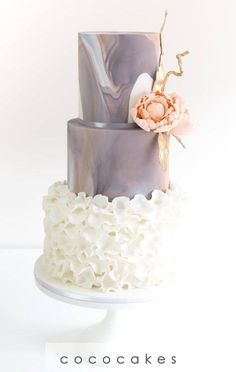 Featured Cake:COCO Cakes Australia;www.cococakes.com.au; Wedding cake idea. #weddingcakes