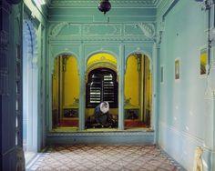 Solitude of the Soul , Udaipur City Palace, Série India Song, 2011 © Karen Knorr, Courtesy Galerie Les filles du calvaire