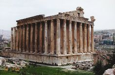 Lebanon. Baalbek. Temple of Bacchus