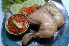 Resep Ayam Pop Padang Sate Ayam, Padang, Kfc, Shrimp, Meat, Chicken, Food, Essen, Meals