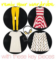 learn how to make 12 outfits with these 4 key pieces