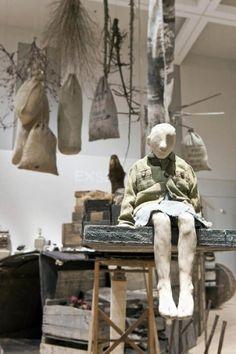Stephanie Beliveau De l'intimité au réel, détail de l'exposition (MUCH more art to discover on this link)