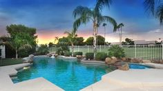 Homes in Sun Lakes with golf course views and private pool. #sunlakeshomeswithprivatepool