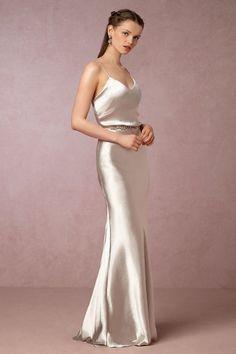 BHLDN Sylvana Dress in  Bridesmaids Bridesmaid Dresses Long at BHLDN