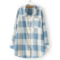 SHARE & Get it FREE | Plaid Pocket Design Loose ShirtFor Fashion Lovers only:80,000+ Items·FREE SHIPPING Join Dresslily: Get YOUR $50 NOW!