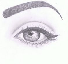 Amazing Eye Drawing Tutorials & Ideas 20 Amazing Eye Drawing Ideas & Inspiration – Brighter Craft See it Realistic Drawings, Eye Art, Eye Drawing, Art Drawings Simple, Sketches, Drawing People, Eye Drawing Tutorials, Art Drawings Sketches Simple