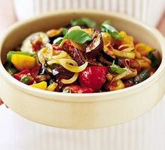 Ratatouille Bbc Good Food Recipes, Cooking Recipes, Diet Recipes, Bbq Turkey, Ratatouille Recipe, Gratin Dish, Sprouts With Bacon, Salmon Salad, Kale Salad