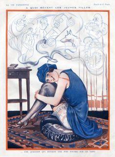 Georges Pavis (1886 – 1977). La Vie Parisienne, 1924. [Pinned 20-i-2015]