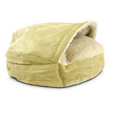 find this pin and more on dog stuff - Cozy Cave Dog Bed