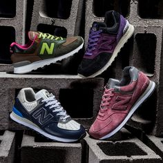 One of the many favorable aspects of New Balance 574 is its versatile color-blocking ability. Whether it goes full tonal or highly varied, the silhouette of the 574 stays remarkably unchanged. It's that reason why this model has been one of the most popular among casual wearers, but this upcoming selection of should be an …