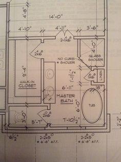 Master Bath layout - Houzz