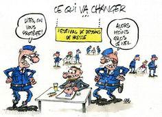 www.lepopulaire.fr - A la Une - SAINT-JUST-LE-MARTEL (87590) - Hommage à Charlie Hebdo : des dessins du monde entier reçus à Saint-Just-le-Martel