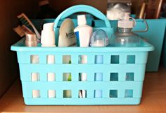 Organizing Our Home: The Bathroom Cabinet + Free Printables - House by Hoff