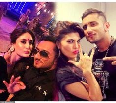 Kareena Kapoor, Jacqueline Fernandez: Pics reveal B'wood's craze for Honey Singh