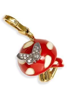 Juicy Couture Mushroom Charm. Want this!