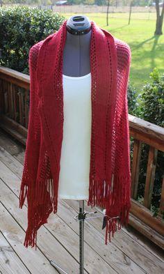American Flag Knit Vest