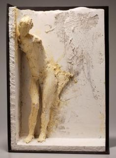 "1986 Plaster, aluminum armature, burlap 23 1/4"" x 16 1/2"" x 5 1/2""  Courtesy of Artist and Hackett-Freedman Gallery  Photograph: M. Lee Fatherree"