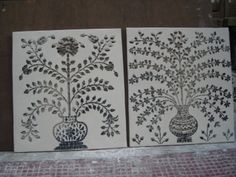 that is thikra glass wall decorate panel.