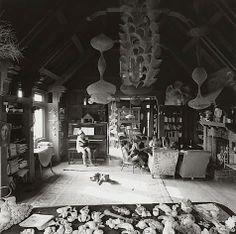Ruth Asawa's Living Room, San Francisco, 1969