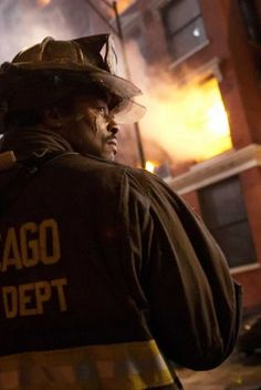 Eamonn Walker as Battalion Chief Walter Boden on 'Chicago Fire'  (Co-Starring LION Janesville® Super-Deluxe™ turnout gear) | Shared by LION