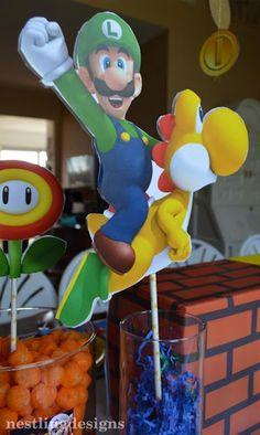 Super Mario Cake Decorating Kit