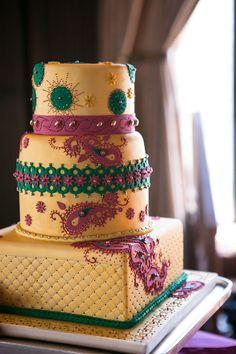 Bollywood, wedding, cake, punjabi