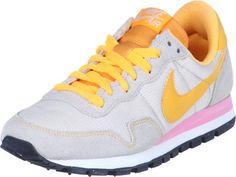 Nike Air Pegasus 83 W shoes grey orange