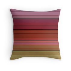 Colorful striped pattern in red and brown tones .