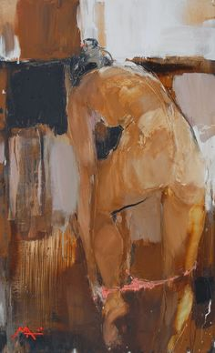 "msjanssen: ""redlipstickresurrected: "" Alina Maksimenko aka Аліна Максименко (Ukrainian, b. Kiev, Ukraine) - Behind The Curtains, 2009 Paintings: Oil on Canvas "" red hot… "" Figure Painting, Figure Drawing, Painting & Drawing, Sexy Painting, Painting Canvas, Oil On Canvas, Arte Pop, Erotic Art, Art Oil"