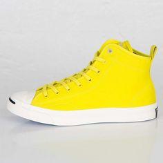 All Star Converse Jack Purcell Mid 'Hancock VA' – Yellow - http://starakia24.gr/star-converse-jack-purcell-mid-hancock-va-yellow/