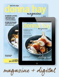 Donna Hay - Home Page..donnahay.com.au. Love her recipes
