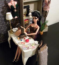 Modern Barbie Boudoir