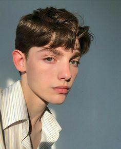 Brown-hair gay hot boy webcam img